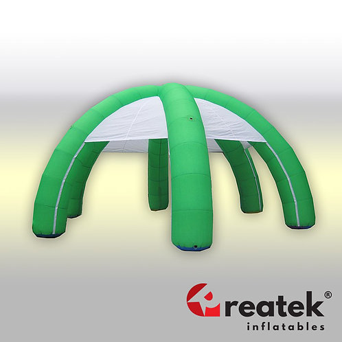 Inflatable tents : Polyester material with velro banners