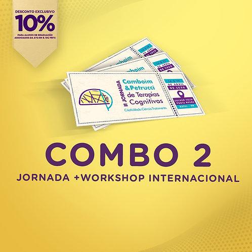 COMBO 2: II Jornada + Workshop Internacional [10%]