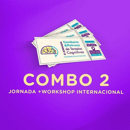 COMBO 2: II Jornada + Workshop Internacional