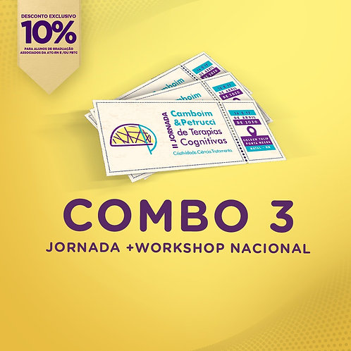 COMBO 3: II JORNADA + Workshop Nacional [10%]