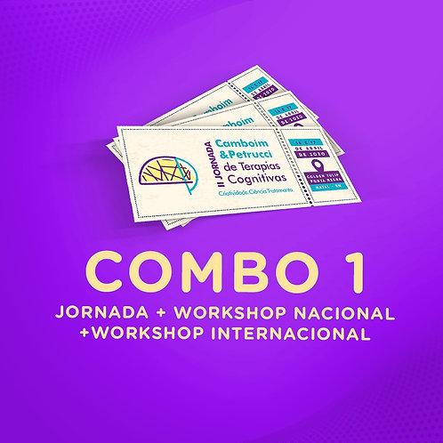 COMBO 1 -II Jornada + Workshop Internacional + Workshop Nacional