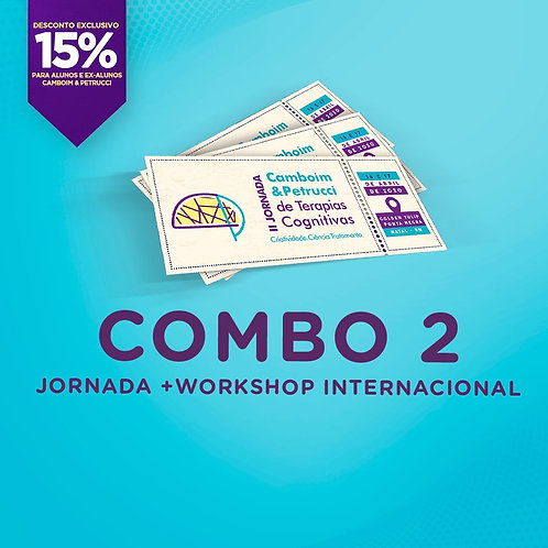 COMBO 2: II Jornada + Workshop Internacional [15%]
