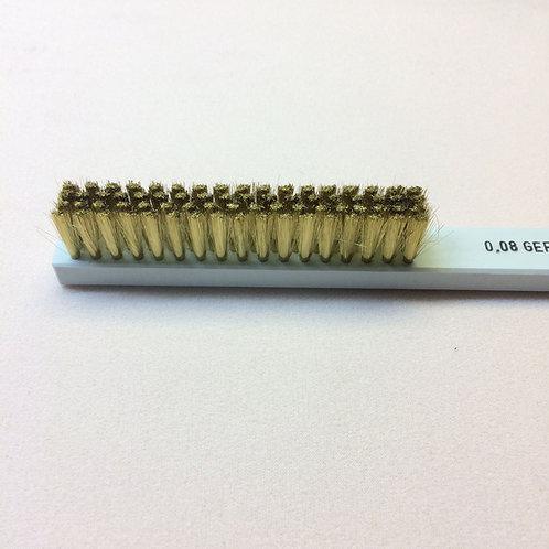 Brass Brush - Hard plastic handle