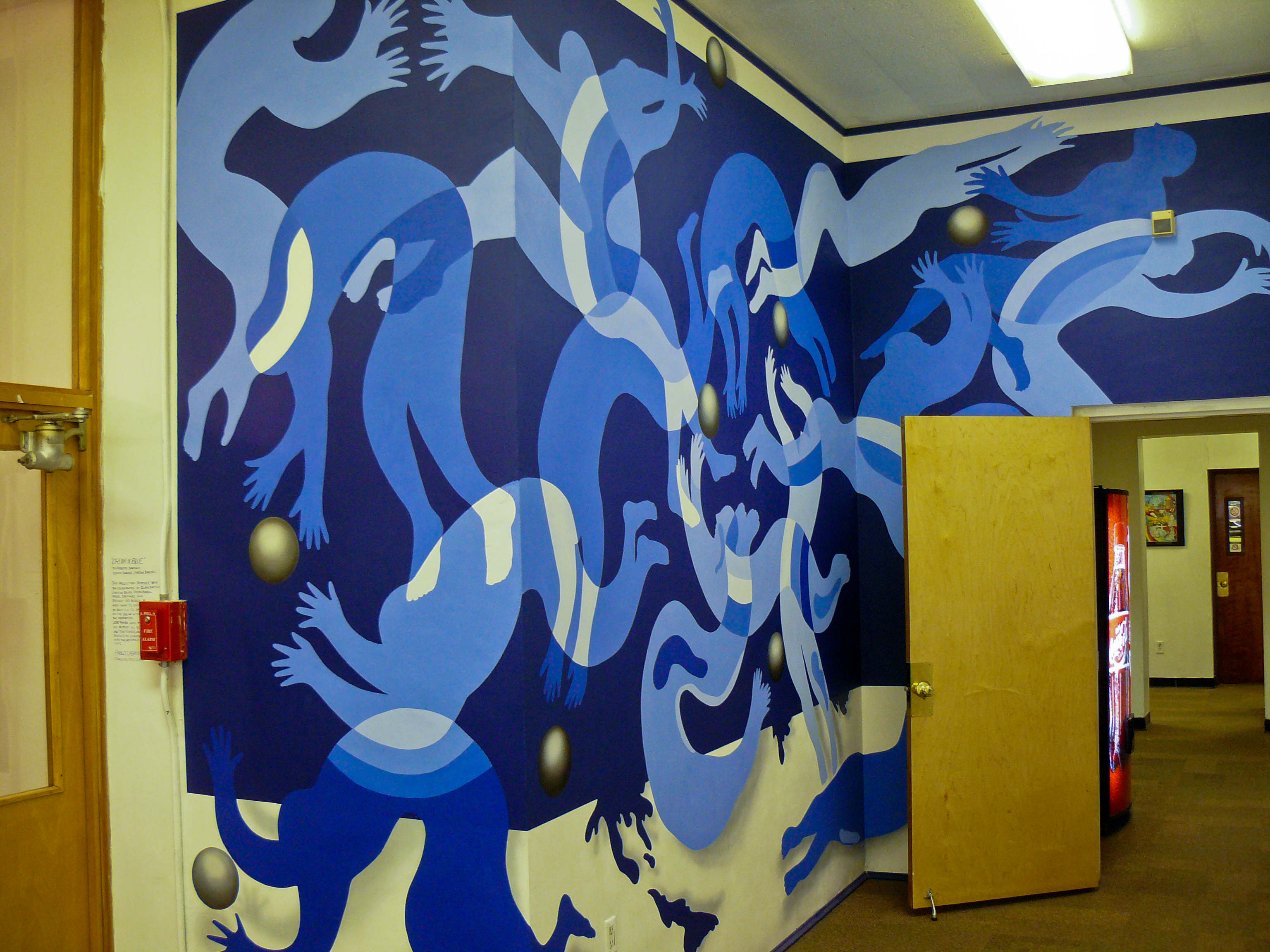 Mural in Philadelphia High School