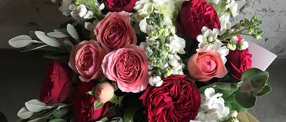 La Tulipe - Light / Садовые розы и Матиола