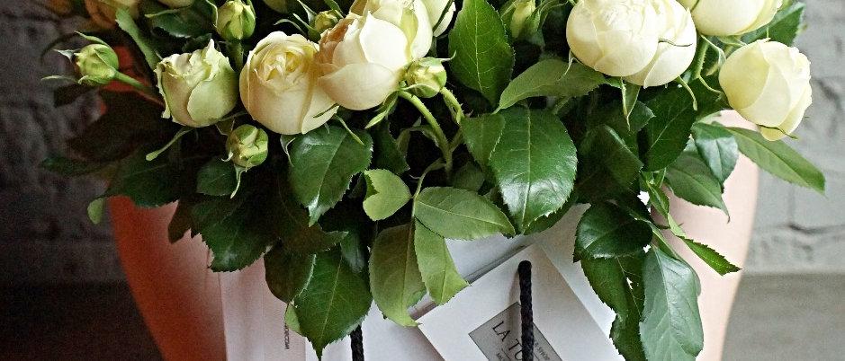 Пионовидные кустовые розы s 11/ m 17 / l 31 / более 10-и цветов и оттенков