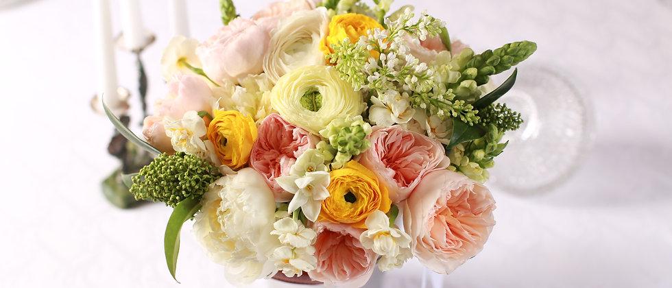Розы Остина и Нарциссы s/m /l
