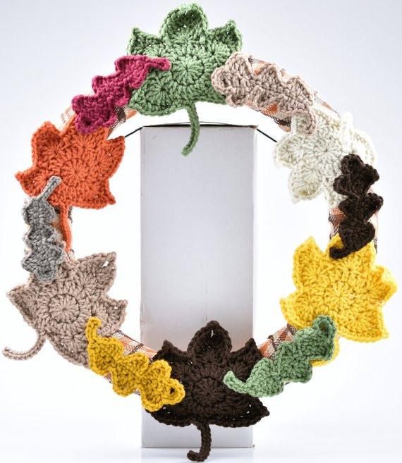 Fall seasonal wreath
