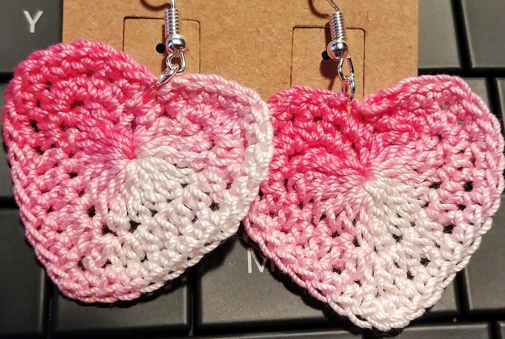 New Heart Earrings!