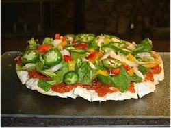 Vegan No Cheese Pizza