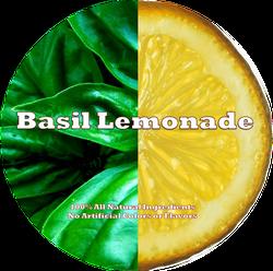 Basil Lemonade Label