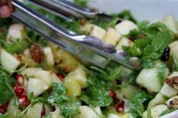 Autumn Apple & Arugula Salad