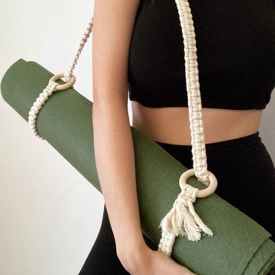 Handmade Macrame Carry Strap