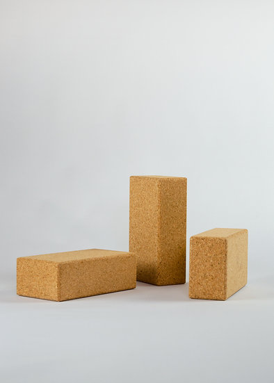Yoga Brick - Natural Cork