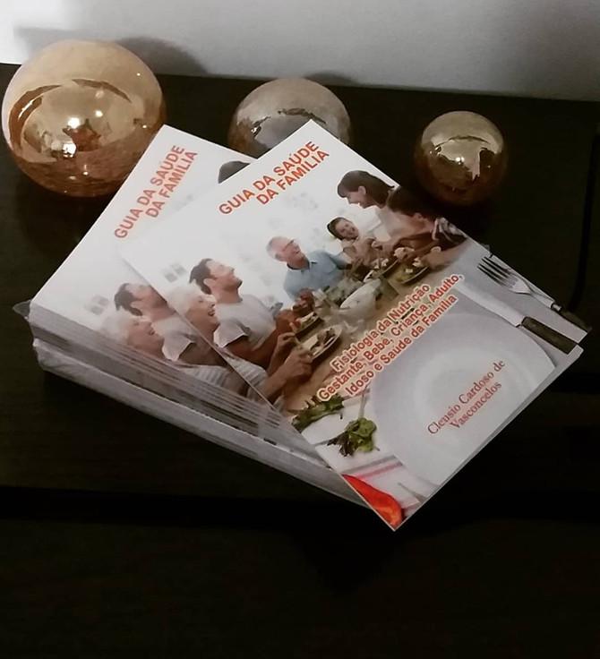 Autor Cleusio Cardoso de Vasconcelos lança seu livro na área da saúde...Guia da Saúde da Família...N