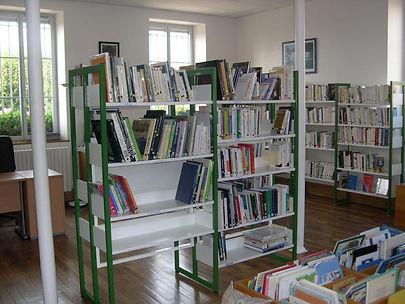 La bibliothèque de Corcelles-lès-Cîteaux