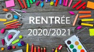 Rentrée 2020-2021 à Corcelles