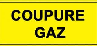 Coupure de gaz
