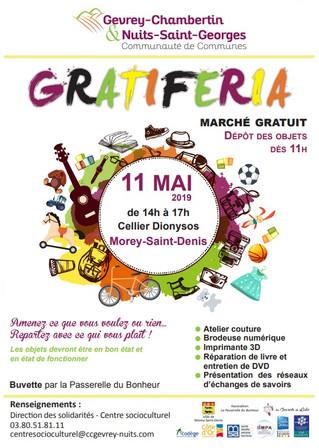 11 mai : Gratiféria à Morey-Saint-Denis
