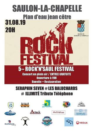 Samedi 31 août : 5ème édition du festival Rock'n Saul !