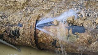 Fuite d'eau route de Longecourt