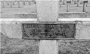 Il y a cent ans disparaissait le 7ème poilu Corcellois, Jean Louis Joseph TRIVIER