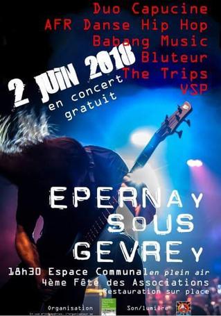 Concert gratuit le 2 juin sur Epernay