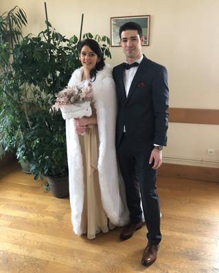 Le 1er mariage de l'année
