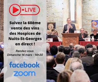 Vente des Vins des Hospices de Nuits-Saint-Georges