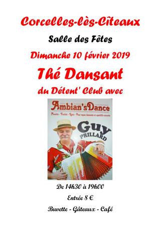 10 février : Thé dansant
