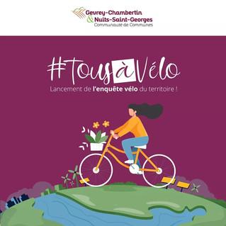 """L'enquête """"Tous à vélo"""" continue !"""