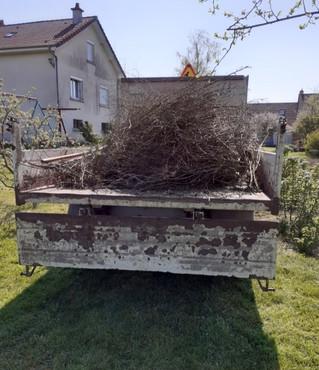 2ème ramassage de déchets verts en porte-à-porte