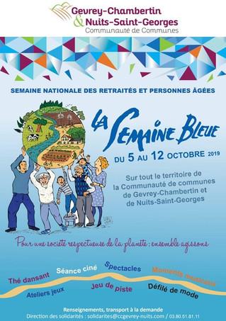 La Semaine Bleue revient du 5 au 12 octobre !