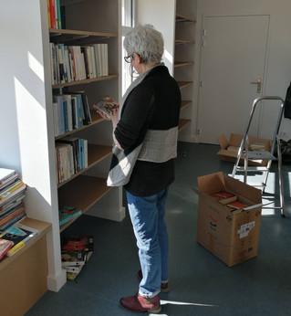 Bibliothèque municipale : Bienvenue à Agnès