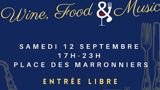 12 septembre : Gevrey Wine, Food & Music
