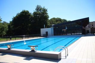 Ouverture d'été des piscines
