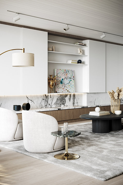 OPUS Rose Bay - Living Space Boutique Finishes