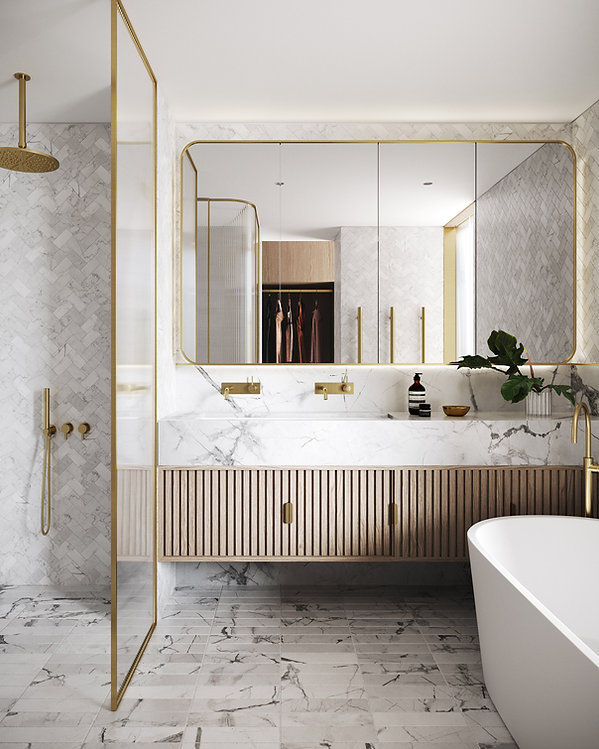 OPUS Rose Bay - Bathroom Luxury Finishes