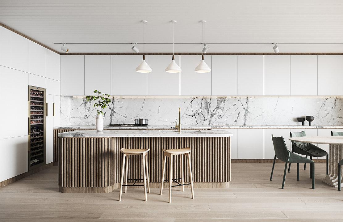 OPUS Rose Bay - Kitchen Living Luxury Finishes