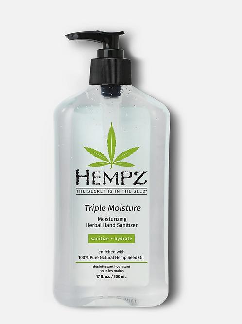 Triple Moisture Moisturizing Herbal Hand Sanitizer (8.5oz or 17oz)