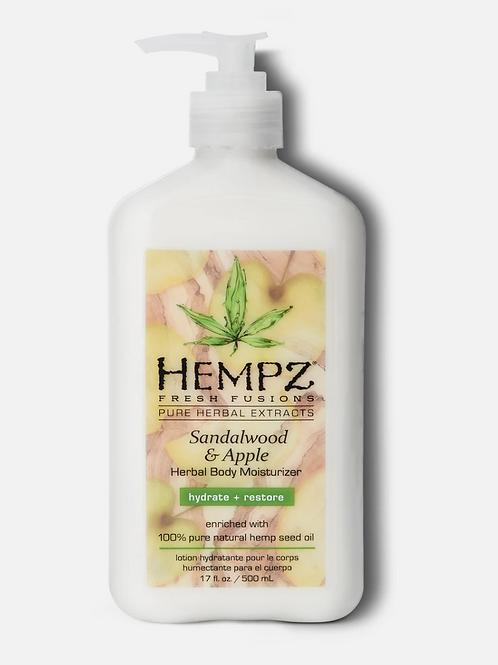 Fresh Fusions Sandalwood & Apple Herbal Body Moisturizer (17oz)