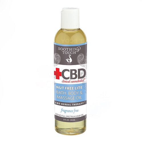 SOOTHING TOUCH CBD MASSAGE OIL (8oz)