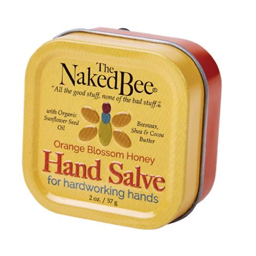 ORANGE BLOSSOM HONEY HAND SALVE (1.5oz)