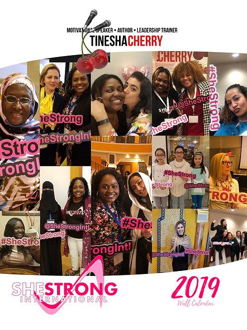 She Strong International Women's Empowerment Calendar 2021