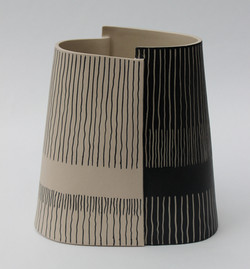 Large Binary Vase