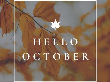 Hello October!