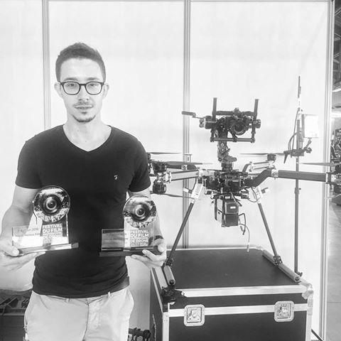 Deux 1er Prix au Salon Drone Expérience à Nantes