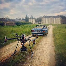 drone cinema et chateau