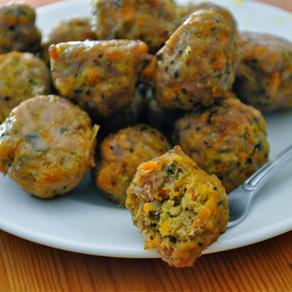EASY Baked Pork Meatballs