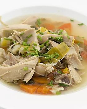 Chicken, Vegetable and Ginger Soup Recip